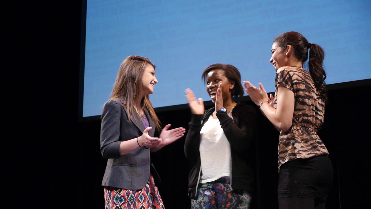 English Prize Stream finalists Caitlin Botros, Dede Akolo, and Kyla Kane were selected to compete again on May 15.