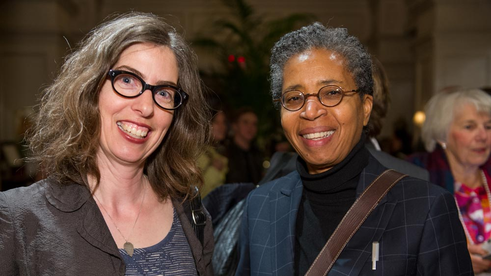 Catherine Bush and Dionne Brand.