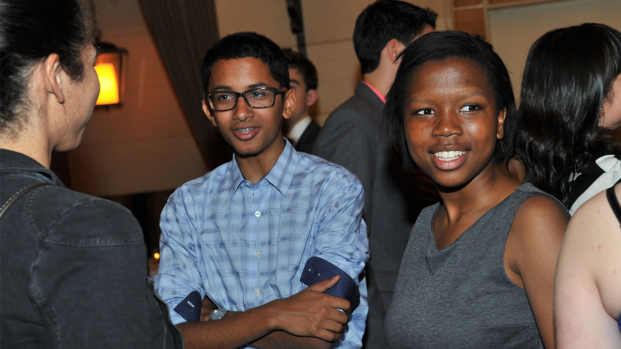 "Khalil Mair and Dede Akolo: ""Poetry In Voice is way cooler than Model UN."""