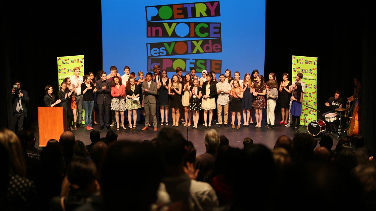 The students received a standing ovation at the end of the show.