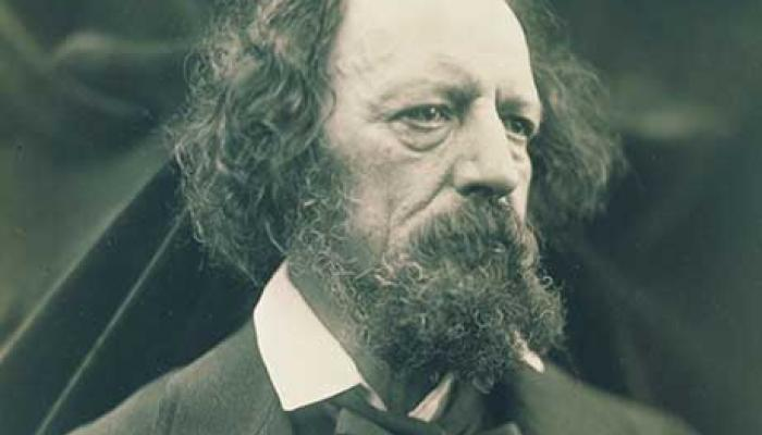 Alfred, Lord Tennyson's picture
